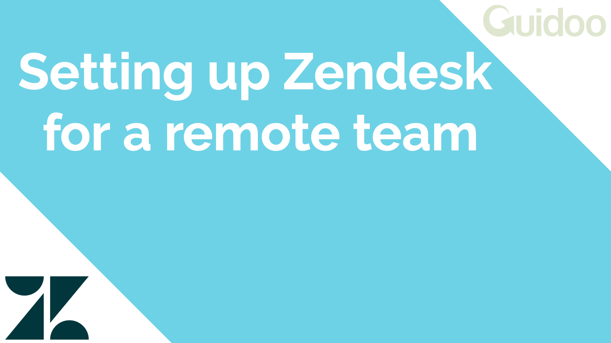 Using Zendesk during a pandemic